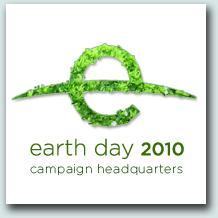 Earth Day Official sign